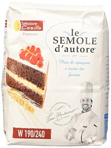 Selezione Casillo Semola per Pan di Spagna e Torte da Forno - 1 kg