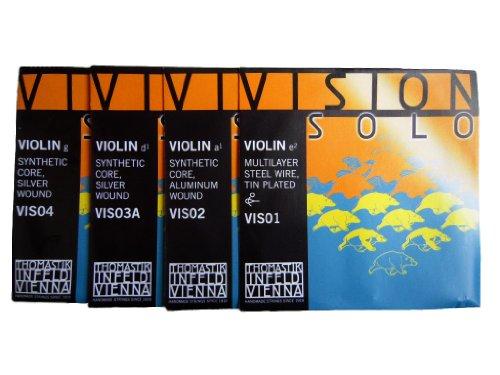 トマスティーク『ビジョンソロ-バイオリン 4/4 (SET NR. VIS101)』