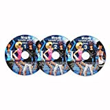 auna Karaoke CD Set , 3er CD-Set , für alle Karaokeanlagen und Karaoke Player mit CD+G...