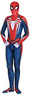 MOXUAN Game Advanced Battle Suit Civil War Spider 4 Role Playing Tights Halloween Cosplay Costume (Size : XXXL)