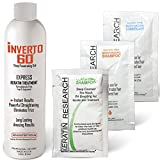 INVERTO 60 Multi-Functional Keratin Hair Treatment Formaldehyde Free Super Fast Application Process includes Starter Keratin Treatment kit Results are Instant healthy Shiny Beautiful hair