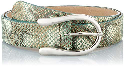 BRAX Damen Style Ledergürtel Snake Gürtel, Grün ( SAGE ) , 75