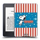 Head Case Designs Oficial Peanuts Color de la Bandera de Snoopy. Tu Voto es tu Voz Carcasa de Gel de Silicona Compatible con Kindle Paperwhite 1/2 / 3