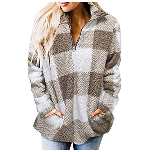 Sweatshirts for Girls 10-12 Long Tank Tops Women Golf Pullovers Men Womens Blouses Summer Short Sleeve Cardigan Lightweight Pink Petticoat White Jacket Brown Hoodie(Gray,2XL)