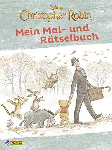 Disney Christopher Robin: Mein Mal- und Rätselbuch (Disney Winnie Puuh)