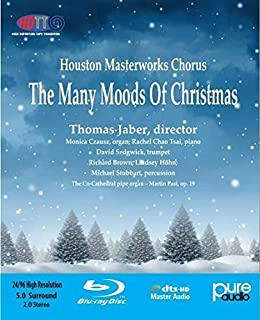 Many Moods of Christmas (Blu-ray Audio) by Monica Czausz - Organ