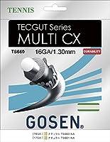 GOSEN(ゴーセン) テックガット マルチ CX 17 TECGUT MULTI CX 17 TS661NA 1805 【メンズ】【レディース】 NA.ナチュラル -