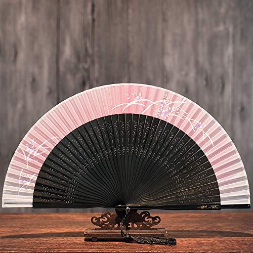 XIAOHAIZI Vouwvakken, Chinese stijl van het oude vouwvak, de klassieke Chinese vouwvakken, klassieke zijvakken, de kleine ventilator van de kleine waaier, een uitstekende cadeaufan