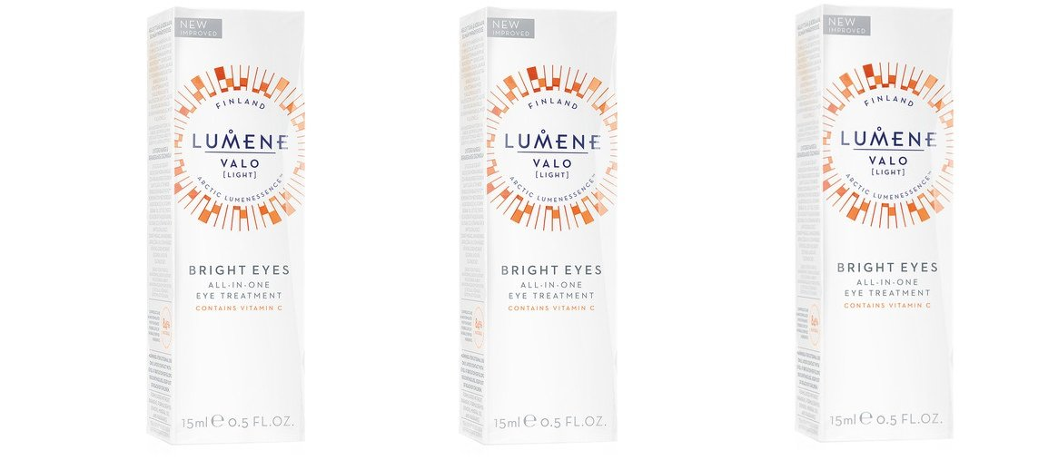 Lumene 40% OFF Cheap Sale 2021 new Valo Vitamin C Bright Eye All-in-One Eyes pack Treatment