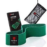 VIA FORTIS® Booty Band - Loop Band aus Stoff [rutschfest & reißfest] - Fitness-Band/Gymnastik-Band als Set oder einzeln für Beine, Po und Arme - Textil statt Gummi