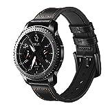 FOUUA Bracelets de Montre 20mm 22mm Compatibles pour Samsung Gear S3 Frontier Galaxy Gear S3 / Huawei Watch GT 1/2 Bracelets de Remplacement Smartwatch pour Hommes ou Femmes