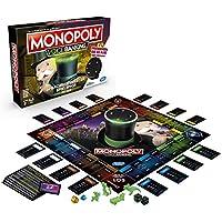 Hasbro Gaming- Monopoly Voice Banking, Juego Familiar controlado por Voz a Partir de 8 años, Multicolor (E4816GC2)