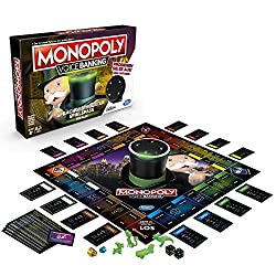 """Monopoly meets voice control: in electronic monopoly voice banking, Mr. Monopoly the banker and winds the entire cash traffic with his voice-controlled cylinder. You speak – Mr. Monopoly listens: press a button and say B. """"Pay rent: Schlossallee""""; Mr..."""