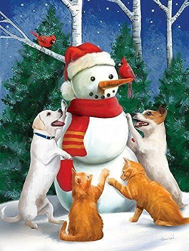 ventas en linea Making a Snowman 300 Piece Puzzle by SunsOut SunsOut SunsOut  descuento de ventas