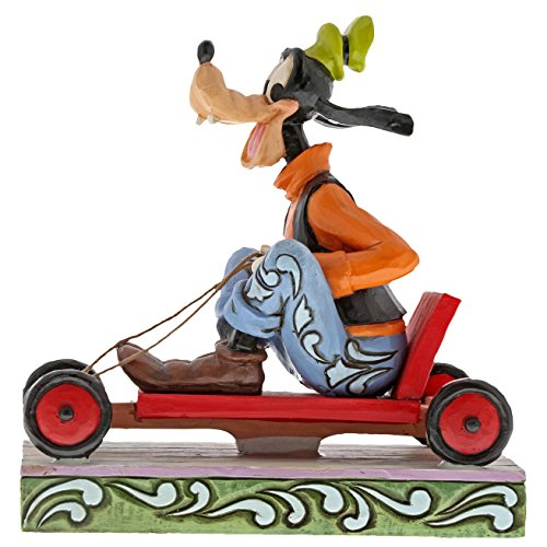 Disney Traditions Life In The Slow Lane - Goofy Figurine