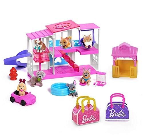 Barbie Deluxe Pet 15 Piece Set Pets Pink Dream House!