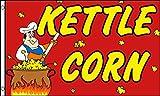 AZ FLAG Bandera Kettle Corn 150x90cm - Bandera Pop Corn 90 x 150 cm