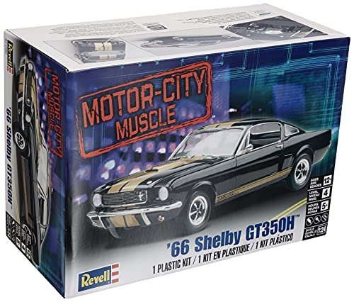 Revell-1966 Shelby GT350H,Escala 1:24...