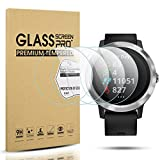 Diruite 4-Pack for Garmin Vivoactive 3 Tempered Glass Screen Protector (Not Fit for Vivoactive 3 Music) [Anti-Scratch] [Perfectly Fit] [Optimized Version]