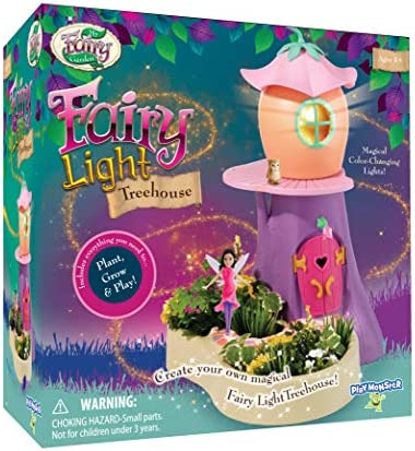 My Fairy Garden Light Treehouse Playset with Color Changing Light product image