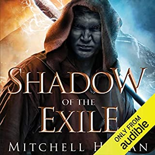 Shadow of the Exile audiobook cover art