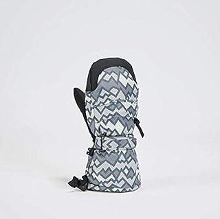 Gordini Kids Baby Mitten, Geo Peaks Grey, X-Large