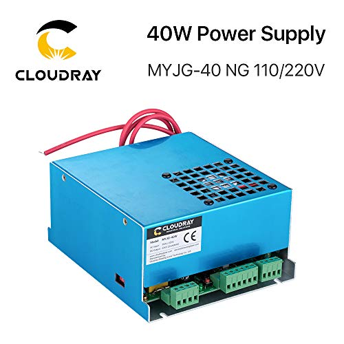 Cloudray 40W PSU Laser Power Supply 110V/220V for CO2 Laser Engraver Cutter MYJG 40W
