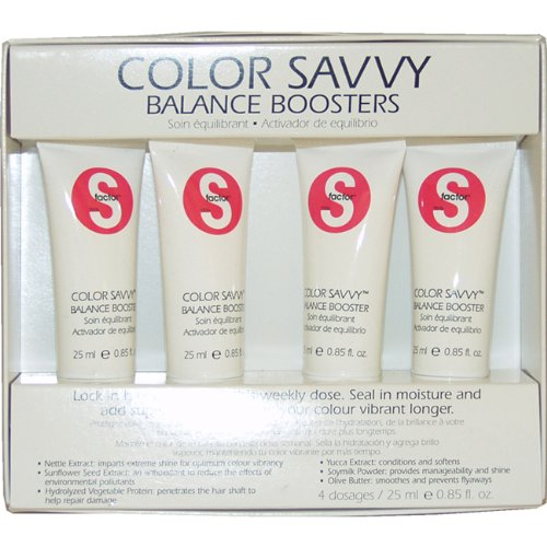 S-Factor Color Savvy Balance Boosters 4 Dosages (0.85oz each) (for Women)