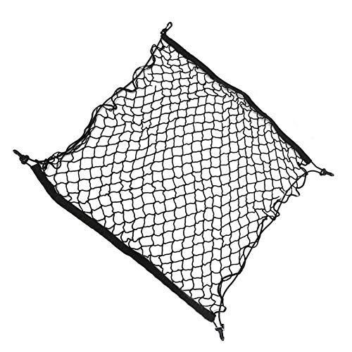 Tonyzhou Co.,ltd 70 * 70cm Car Accessories Trunk Elastic Net Grid Pocket Holder Storage Bag Mesh Net Auto Styling Luggage Organizer Stuff Netting