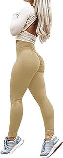 Minetom Damen Frühling Jogginghose Fitnesshose Übung Stretch Leggings Hüfte Push-Up Skinny Sport Yoga Fitness Hose