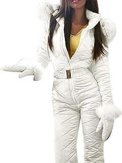 Majome Traje de Nieve cálido de Invierno para Mujer