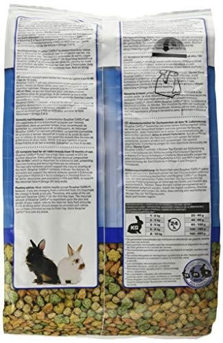 beaphar Care+ Kaninchen | Kaninchenfutter mit Alfalfa aus Bergwiesen | Fördert den gesunden Zahnabrieb | Niedriger Fettgehalt | 5 kg Beutel - 3
