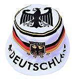Generisch Deutschland Sonnenhut 2.0, Fischerhut, Anglerhut, Fan-Hut