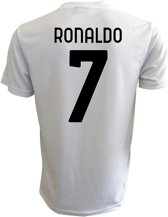 Camiseta Ronaldo Juventus blanca oficial 2021 CR7 Cristiano Juve 2020 – 2021 Adulto niño Home