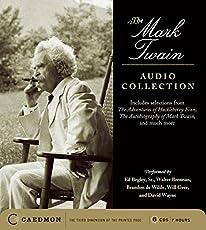 Image of Mark Twain Audio CD. Brand catalog list of Caedmon.