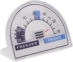 Termómetro para nevera o congelador con zonas de