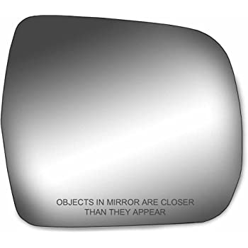 Fit System 99192 Toyota Land Cruiser Driver//Passenger Side Replacement Mirror Glass