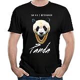 T&Tat Men's Panda Desiigner New Wave Rap Song Short Sleeve T-Shirt XX-Large