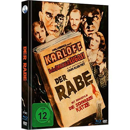 Der Rabe - Limited Mediabook (Blu-ray+DVD inkl. Bonusfilm Die schwarze Katze)