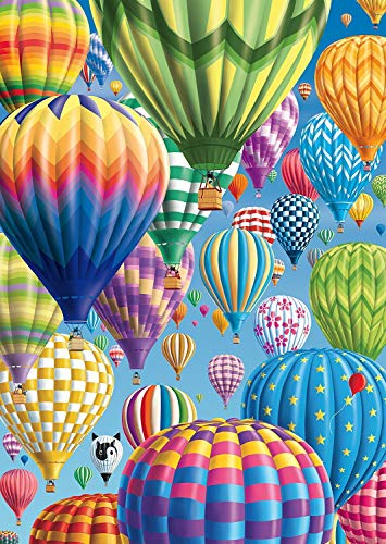5D DIY Diamond Painting Kits for Adults and Beginner Round Full Drill Embroidery Paintings Rhinestone Pasted Diamond Pictures Arts Craft Canvas for Home Wall Decor Gift 11.8×15.7In(Hot air Balloon)