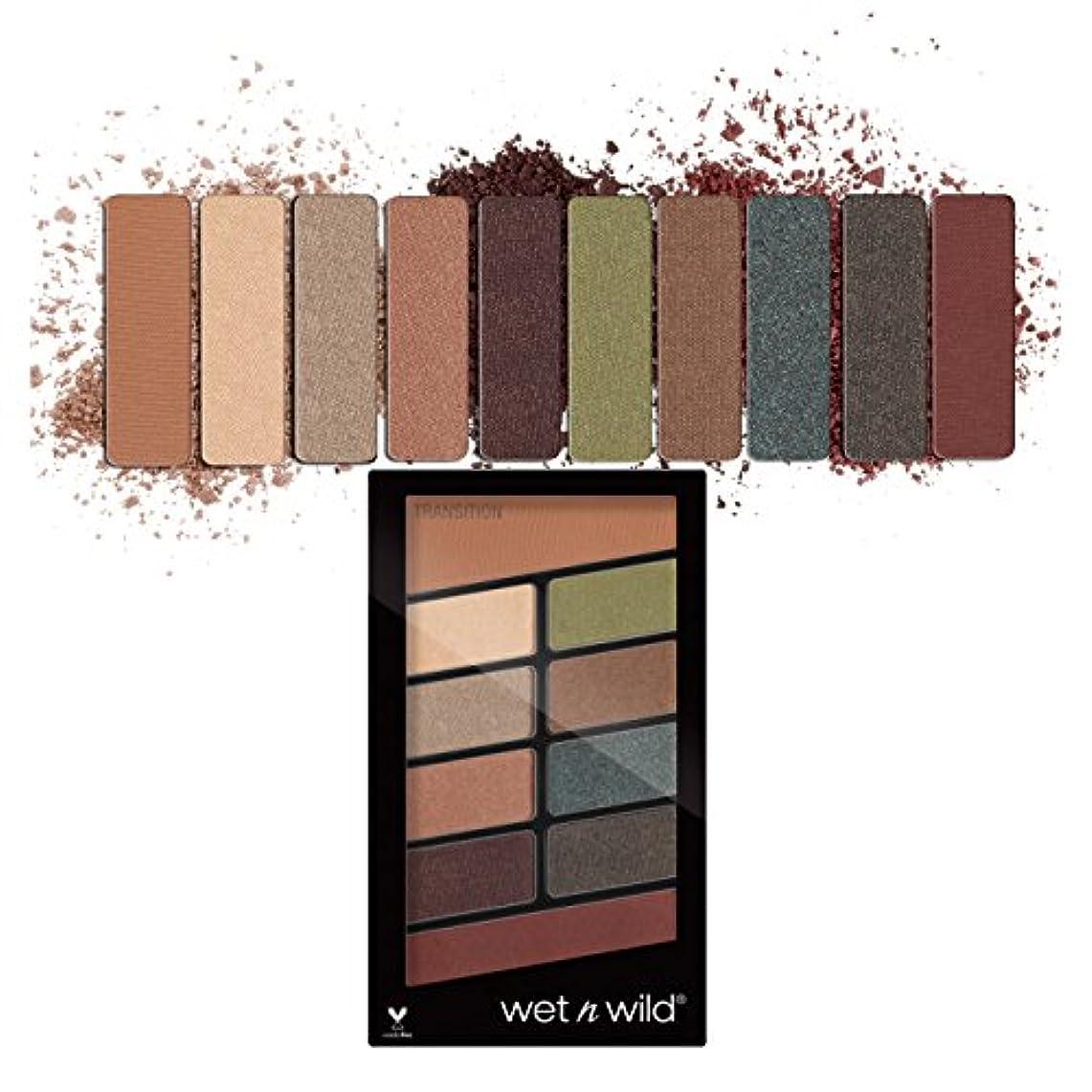 粒グリース城(3 Pack) WET N WILD Color Icon Eyeshadow 10 Pan Palette - Comfort Zone (並行輸入品)