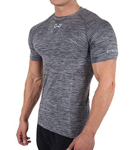 (ビベター)Bebetter コンプレッションウェア 半袖 Tシャツ メンズ スポーツシャツ 吸汗速乾 トレーニングウェア ストレッチ素材 ボディビル