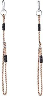 NOSTAFY 2PC Heavy Duty Length Adjustable Nylon Rope Express Setup Hanging Tree Straps (250 Lbs Limited/Each) for Outdoor S...