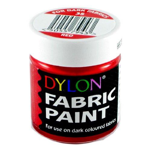Teinture Tissu Rouge DYLON Rouge Opaque 25ml