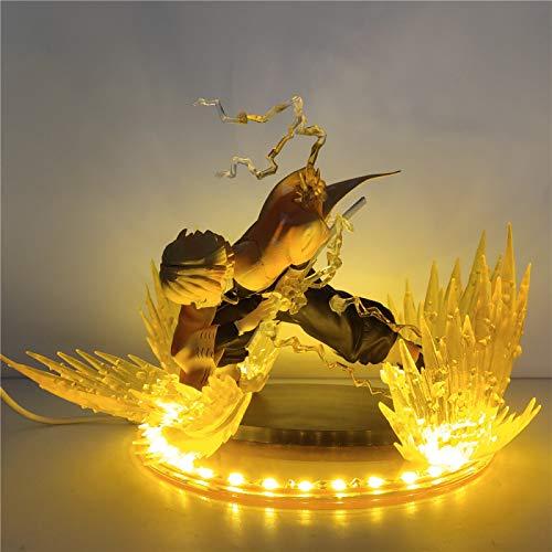 Agatsuma Zenitsu Night Light Demon Slayer LED Lampade Fai da Te Action Figures Kimetsu No Yaiba Figurine Decor Lampara Anime Figurine