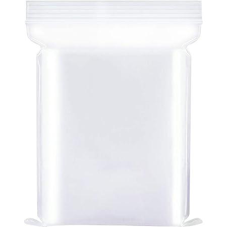 Sacchetti di plastica trasparenti richiudibili, sacchetto sigillato, sacchetto di immagazzinaggio, 35X45cm 100PZ, ispessimento durevole, si applicano a articoli per la casa/vestiti sigillati ecc.