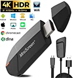Wireless Wifi Display Dongle HD Adapter HDMI (4K HD-2.4G+5Gwifi)