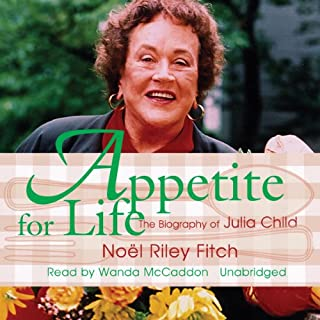 Appetite for Life audiobook cover art