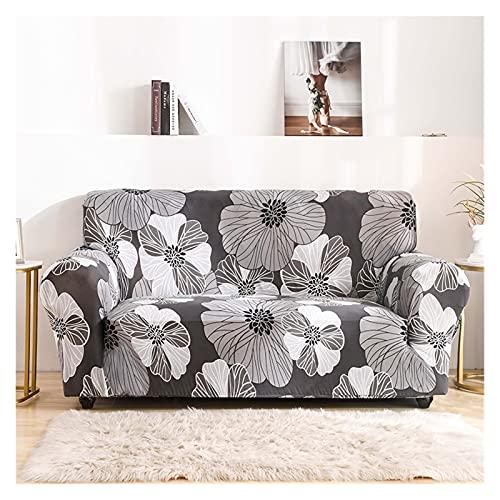 OYZK Cubierta de sofá Floral, Tapa de sofá elástica para Sala de Estar Moderno Esquina Sofá Sofá Sillón Sillón Sillón Cubierta 1/2 / 3/4 plazas (Color : 21, Specification : 1 Seat 90 140cm)