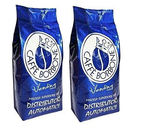 Caffè Borbone Kaffeepackung, 1 kg, Blau, Bohnenmischung
